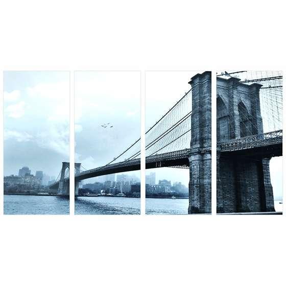 Quadro pontes paisagem fotografia decorativo