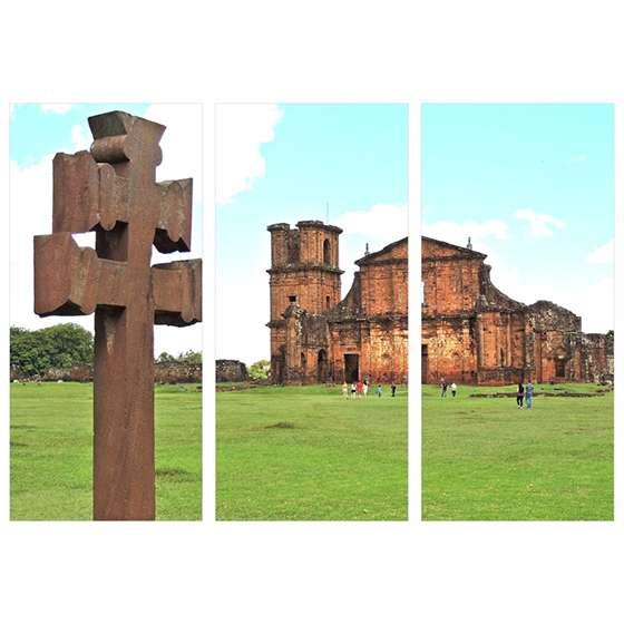 Quadro Sao Miguel das Missoes Rio Grande do Sul decorativo