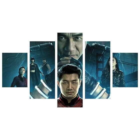 quadro Shang-Chi marvel heroi multiverso vingadores