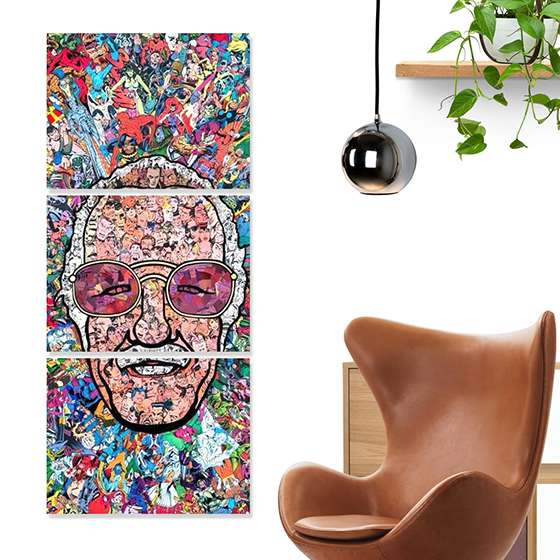 Quadro stan lee marvel