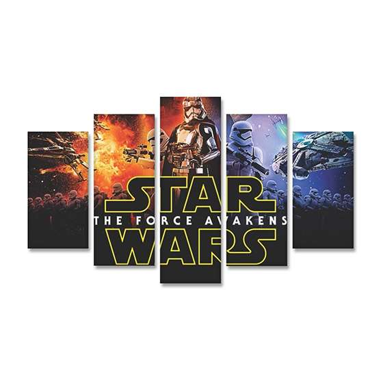 Quadro Star Wars Force Awakens