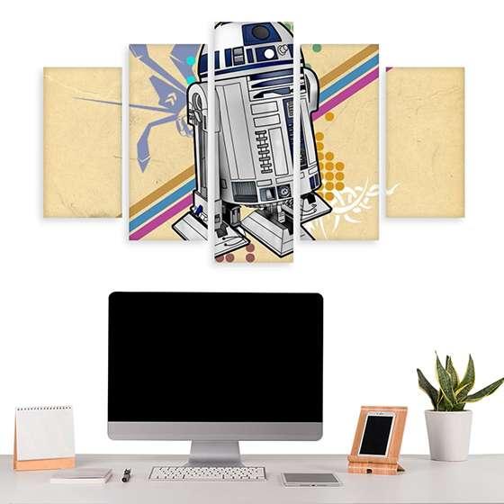 Quadro Star Wars R2D2