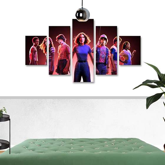 Quadro Stranger Things 3 Decorativo