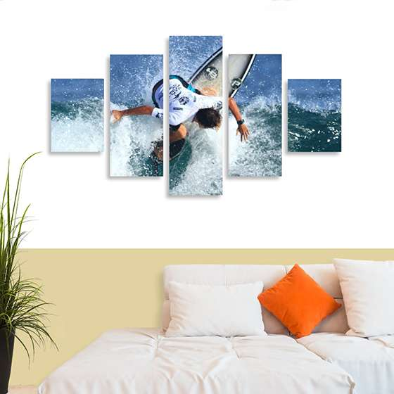 Quadro surf lifestyle decorativo