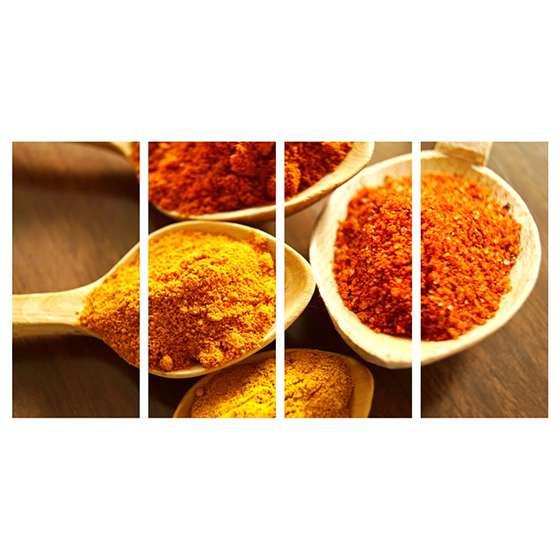 Quadro tempero indiano cozinha decoração
