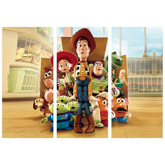Quadro toy story decorativo