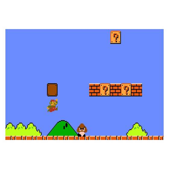 Quadro Decorativo Jogo Super Mario Para Sua Casa
