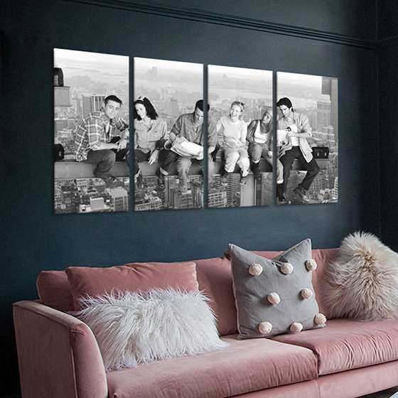 Quadro serie friends decorativo