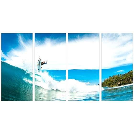 Quadro surf lifestyle para decoraçao